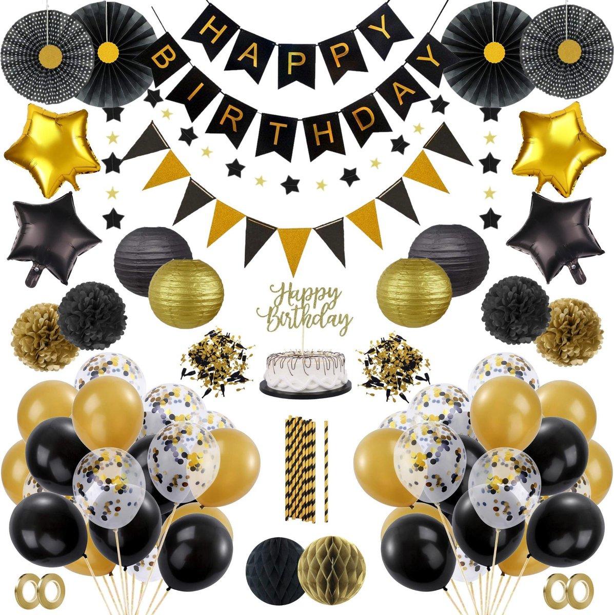 Betere bol.com   Partizzle® Verjaardag Versiering Set - Ballonnen Man DK-97