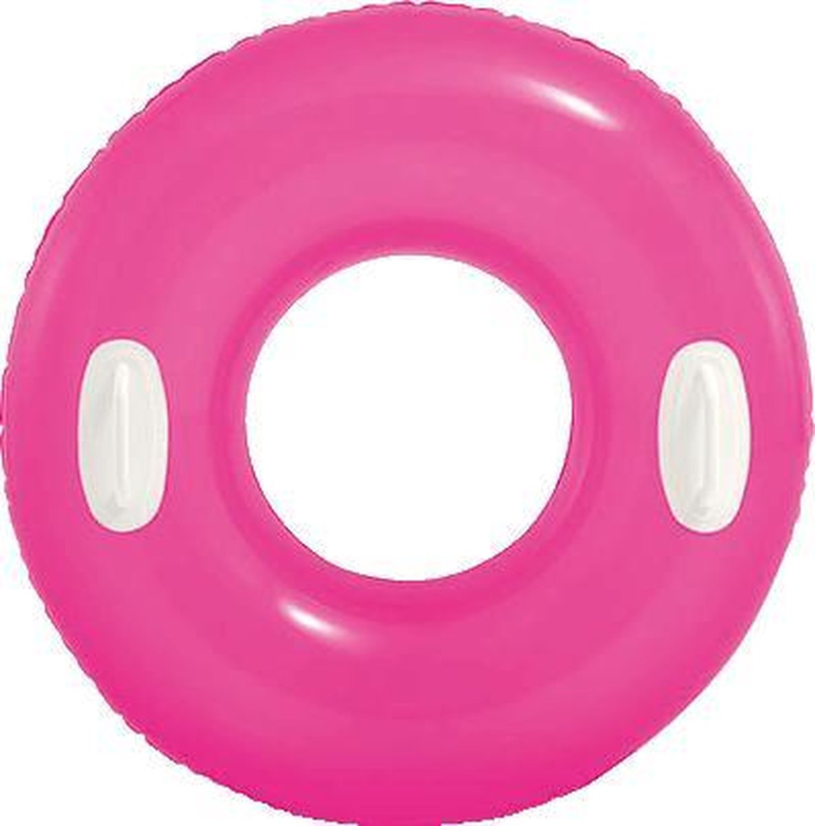 Opblaas zwemband Basic 76 cm - roze