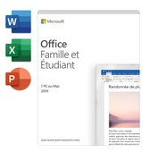 Office Home and Student 2019 - Frans - 1 jaarabonnement