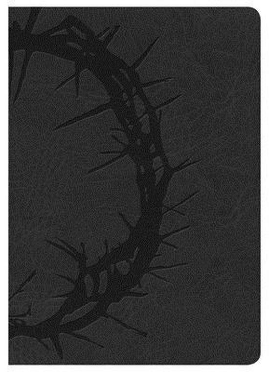 NKJV Large Print Compact Reference Bible, Charcoal LeatherTouch - Diverse auteurs | Fthsonline.com