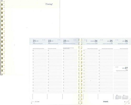 Afbeelding van Brepols Agenda Navulling 2021 • Timing • LIMA • 17,1 x 22 cm