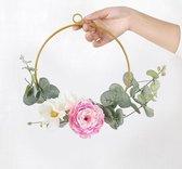 Plantenhanger Binnen voor Hangende Bloemen - Geometrisch - Rond - Woondecoratie - Nordic Style - Metaal - Goud