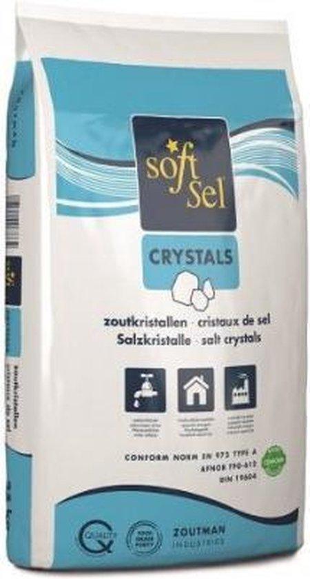 Onthardingszout - Zout waterverzachter - waterontharder - zoutkristallen - Regeneratiezout - 25 kg