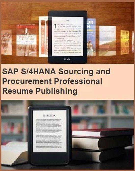 SAP S/4HANA Sourcing and Procurement Professional Resume Publishing