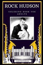 Rock Hudson Coloring Book for Adults