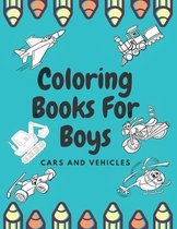 Coloring Books For Boys Cars And Vehicles