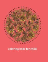 Coloring book for child.