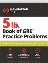 Boek cover 5 lb. Book of GRE Practice Problems van Manhattan Prep
