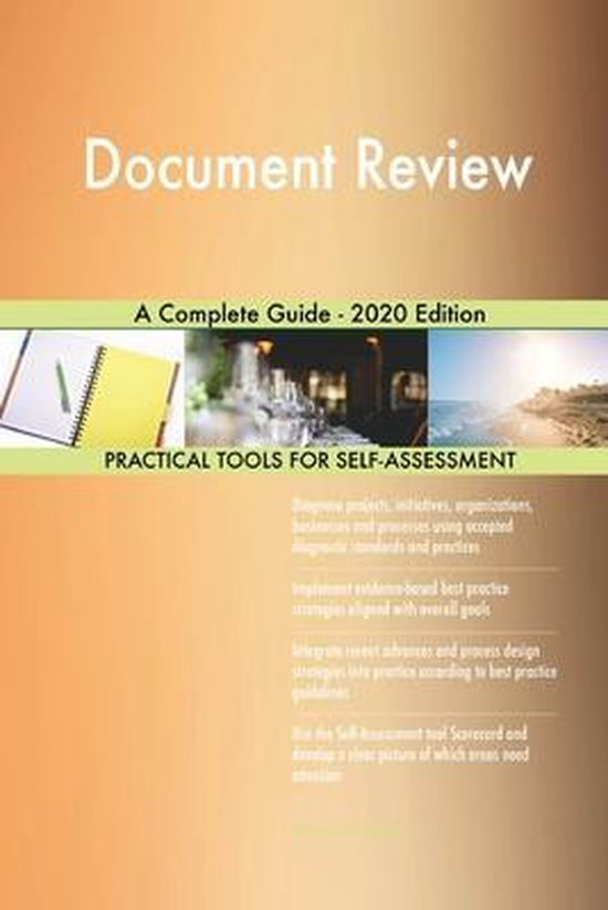 Document Review A Complete Guide - 2020 Edition