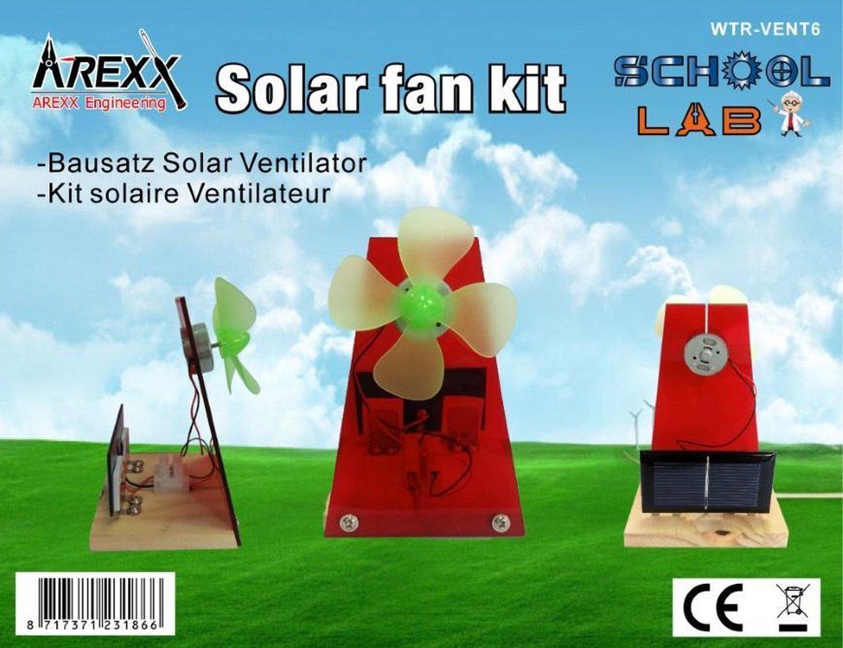 Bouwpakket Arexx Wtr-Vent Solar Ventilator Wtr-Vent