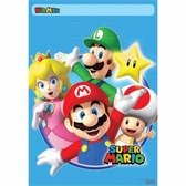 Super Mario Uitdeelzakjes 23x16,5cm 8 stuks
