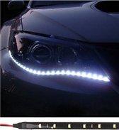 Set van 2 LED licht strips - Auto koplamp verlichting - 30 cm - Waterdicht - Led strip light - Grill lamp - Flexibel - Wit