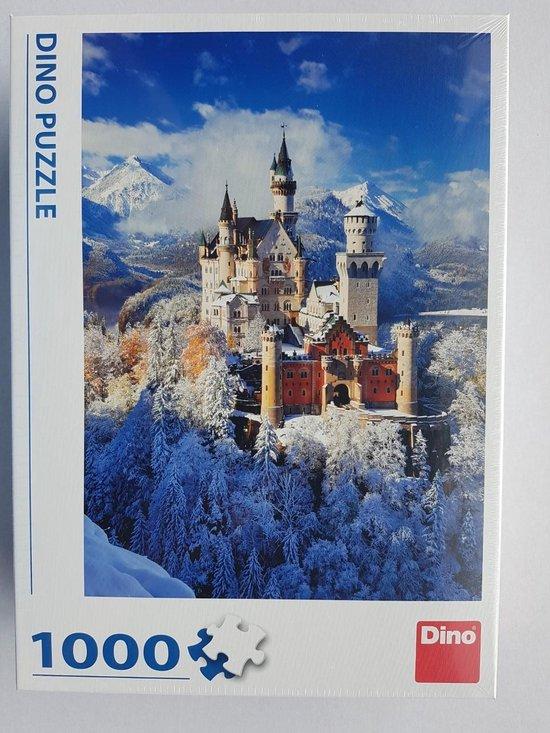 Puzzle 1000 stukjes neuschwanstein winter