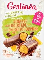 Gerlinea Mijn Pauze Maaltijdrepen - Sinaas & Pure Chocolade - 12 stuks