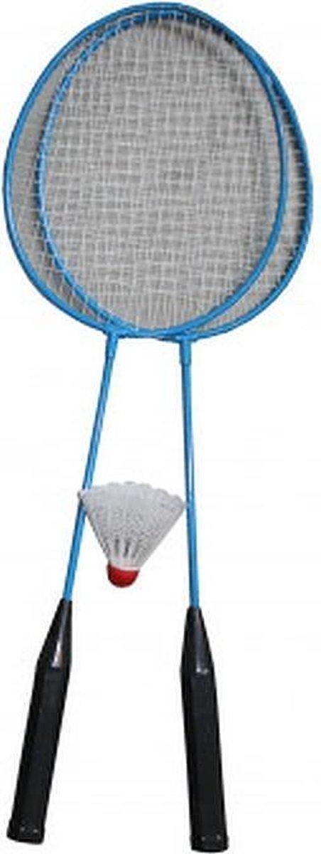 Toys & Fun - Badminton set - 2 Badmintonrackets - Inclusief Shuttle
