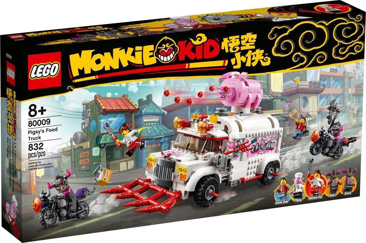 LEGO Pigsy's Food Truck (80009)