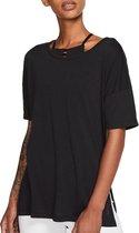 Nike Sportshirt - Maat XS  - Vrouwen - zwart