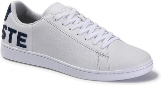Lacoste Carnaby Evo 120 7 US  wit sneakers heren (739SMA0052042)