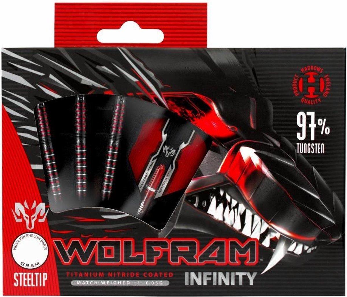 Harrows Wolfram Infinity 97% Tungsten Steeltip 23 gram