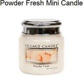Village Candle - Powder Fresh - Mini Candle - 25 Branduren