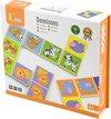 Afbeelding van het spelletje Viga Toys - Domino - Wilde Dieren