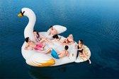Floatin' Fashion - opblaasbare SUPERSIZED Zwaan XXL 429x330cm - Wit