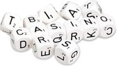 Set van 13 stuks Scrabble dobberstenen