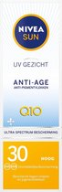 NIVEA SUN Gezichtszonnecrème - SPF 30 - 50 ml - Anti-age & Anti-Pigmentvlekken