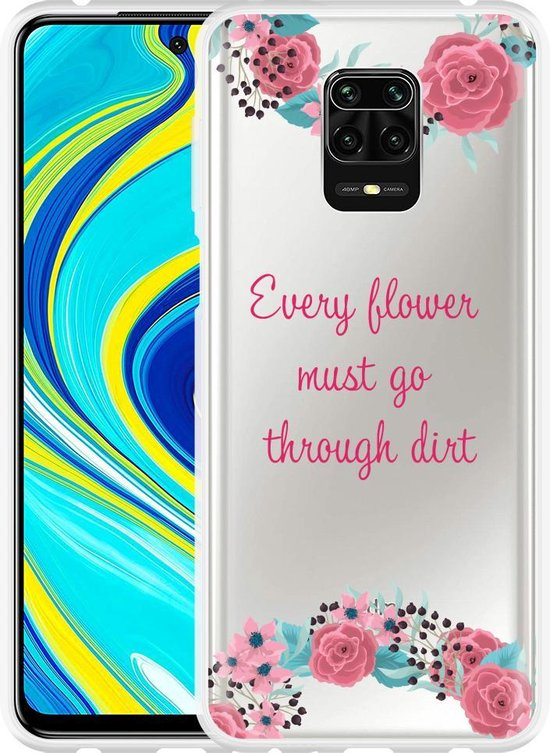 Xiaomi Redmi Note 9S Hoesje Every Flower