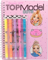 Top Model - Colouring Book w/Felt Pens - Candy Cake (48809) /Arts and Crafts