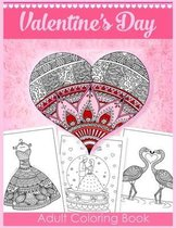 Valentine's Day Adult Coloring Book