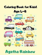 Coloring book for Kids Age 4-8