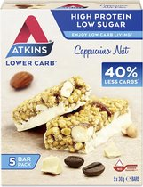 Atkins Maaltijdrepen - Cappuccino Nut - 20 repen