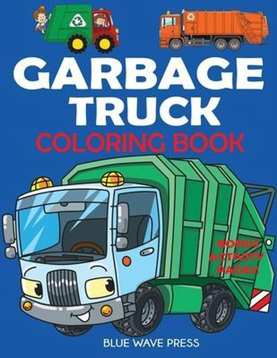 Garbage Truck Coloring Book