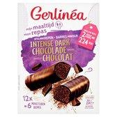 Gerlinea Maaltijdrepen - Intense Dark Chocolate - 12 stuks