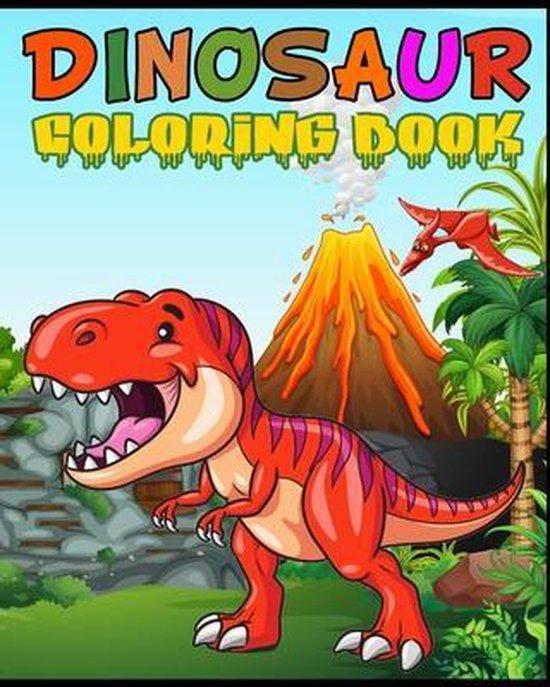 Dinosaur Coloring Book