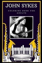 John Sykes Coloring Book for Adults