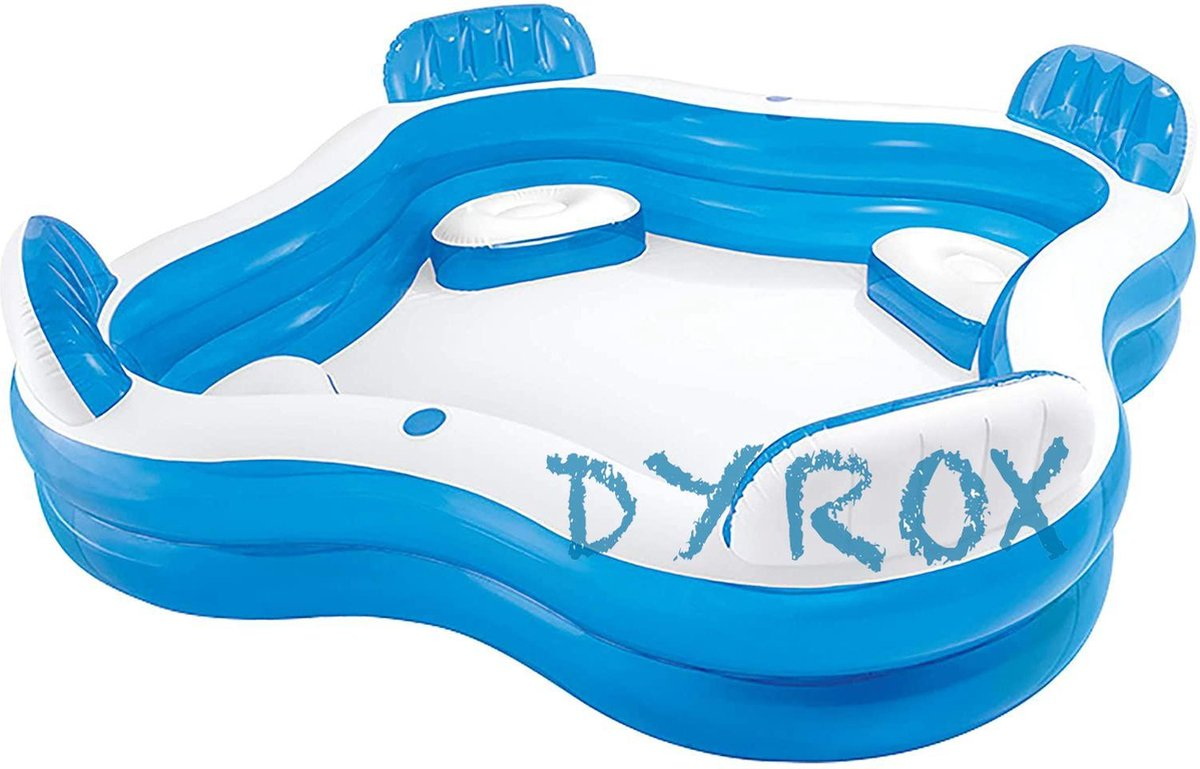 Intex familie groot zwembad zitlounge, zwembad