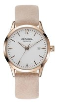 Orphelia Fashion - OF711822 Horloge - Leer - Roze - Ø 36 mm