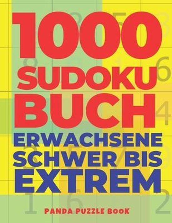 1000 Sudoku Buch Erwachsene Schwer Bis Extrem