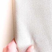 50 x 70 cm Fijne Monks Cloth 13 count met 5 gaatjes per cm | Punch needle stof voor fijne punch naalden waaronder de 3 maten punch naald set (los verkrijgbaar) | Gemaakt in Europa 100% katoenen punch stof