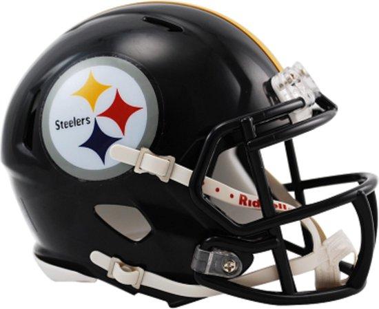 Riddell Speed Mini American Football Helm | Club Steelers
