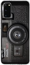 Samsung Galaxy S20 hoesje Camera 2 Casetastic Smartphone Hoesje softcover case
