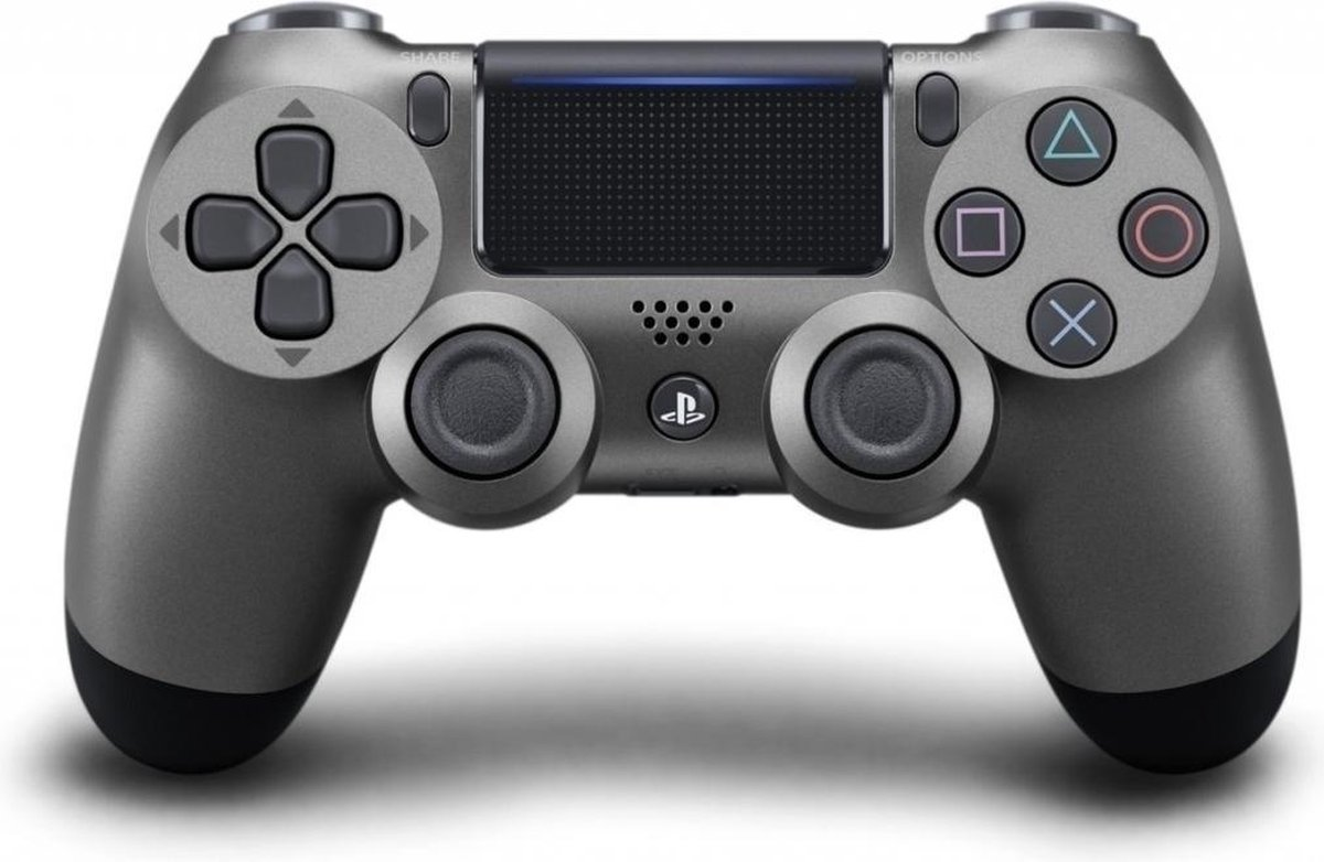 Sony Dual Shock 4 Controller V2 - PS4 - Staal Zwart