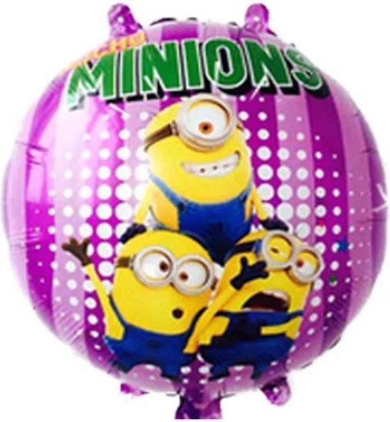 Minions Ballon - Minion - Verjaardag ballon - Kinderfeestje ballon - 45 x 45 cm - Folieballon