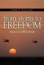 Boek cover From Storm to Freedom van John R. Ballard
