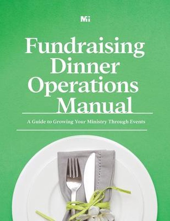 Fundraising Dinner Operations Manual