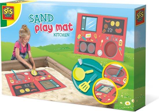 Zand speelmat – Keuken