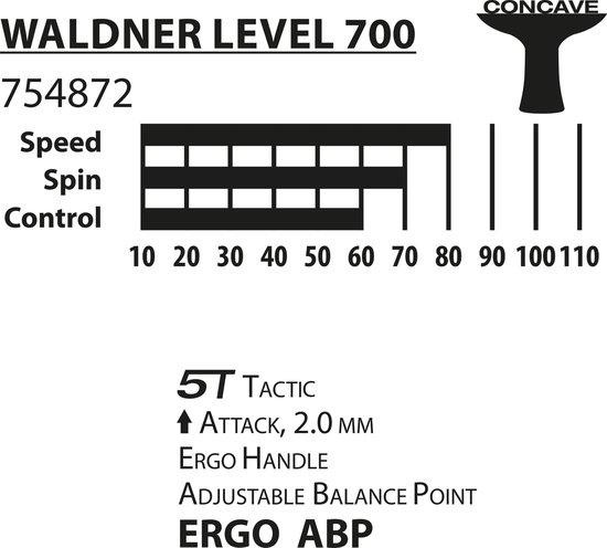 DSK bat Waldner 700 - Donic schildkröt