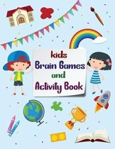 Kids Brain Games and Activity Book